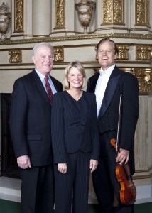 Dick and Carol Hertzberg, my symphony sponsors. They are very active philanthropists in the San Diego community.